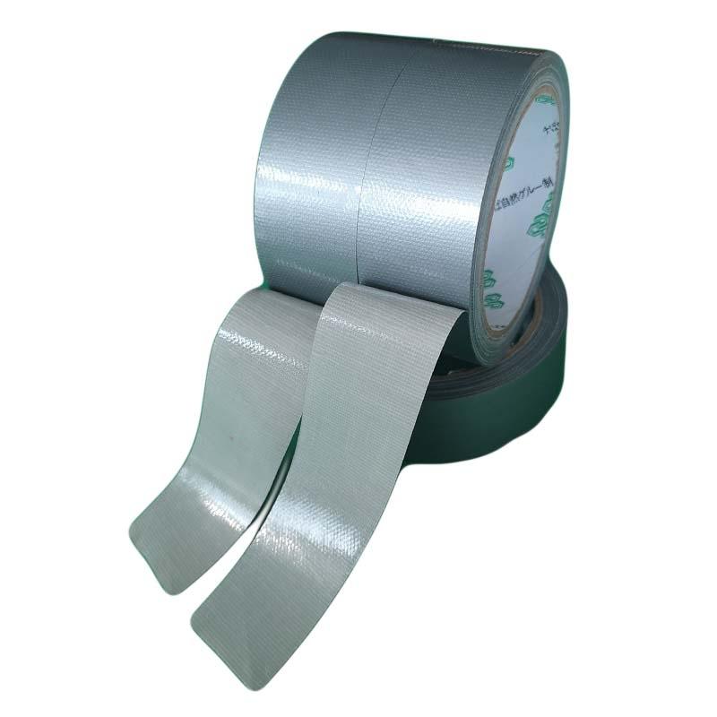 耐高温120 ℃银灰色布基胶带