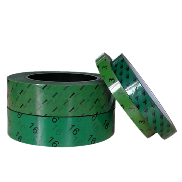 绿色pet数字终止胶带