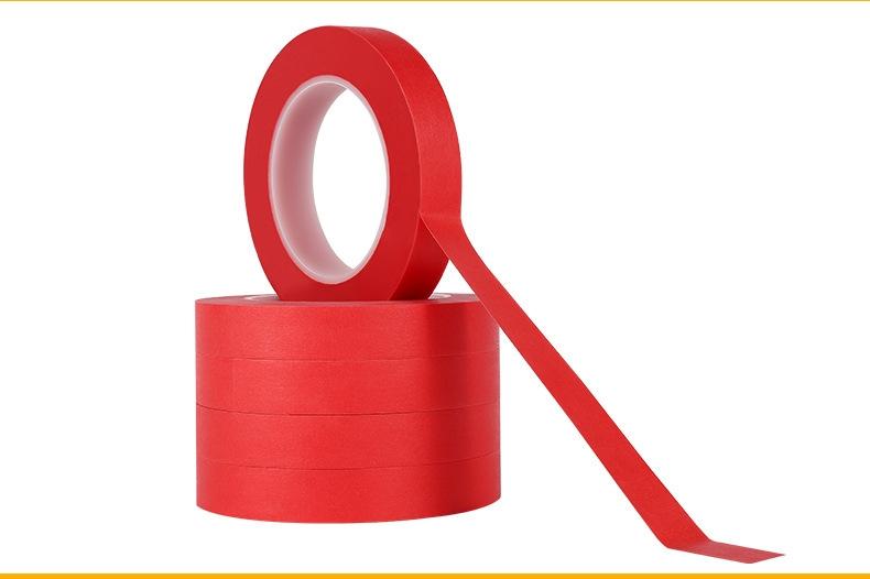 高温红色美纹纸胶带